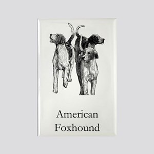 American Foxhound Rectangle Magnet