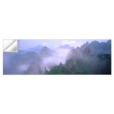 Huangshan Mountains National Park China Wall Decal