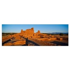 Abo Ruins Salinas Pueblo Missions National Monumen Poster
