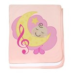 Pink Music Baby Cloud Dream Infant Blanket