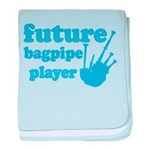Future Bagpipe Player baby blanket