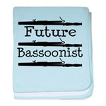 Bassoon Baby Blanket