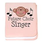 Future Choir Singer Kids baby blanket