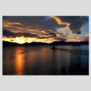 Sunrise Lake Tahoe CA