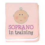 Soprano In Training baby blanket