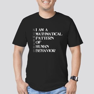 NUMB3RS Men's Fitted T-Shirt (dark)