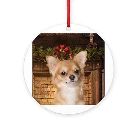 Holiday Chihuahua Ornament