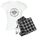 Celebrate Traditional Values Women's Light Pajamas