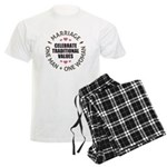 Celebrate Traditional Values Men's Light Pajamas