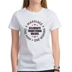 Celebrate Traditional Values Women's T-Shirt