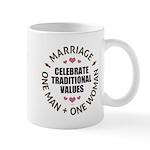 Celebrate Traditional Values Mug