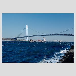 Verrazano Narrows Bridge Staten Island New York