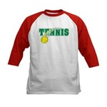 Tennis Kids Baseball Jersey