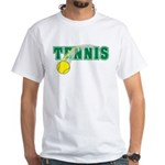 Tennis White T-Shirt