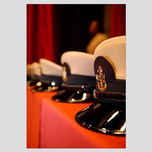 Several chief petty officers combination covers li