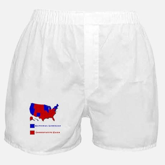 Conservative Nazis Boxer Shorts