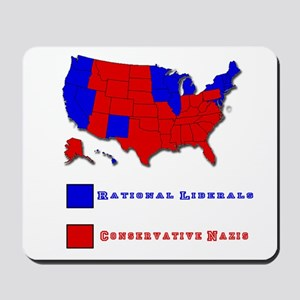 Conservative Nazis Mousepad