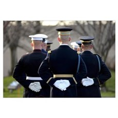 The Armed Forces Honor Guard Canvas Art