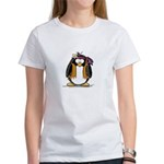 Hippie penguin Women's T-Shirt