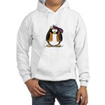 Hippie penguin Hooded Sweatshirt