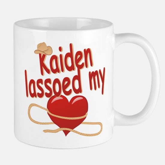 Kaiden Lassoed My Heart Mug