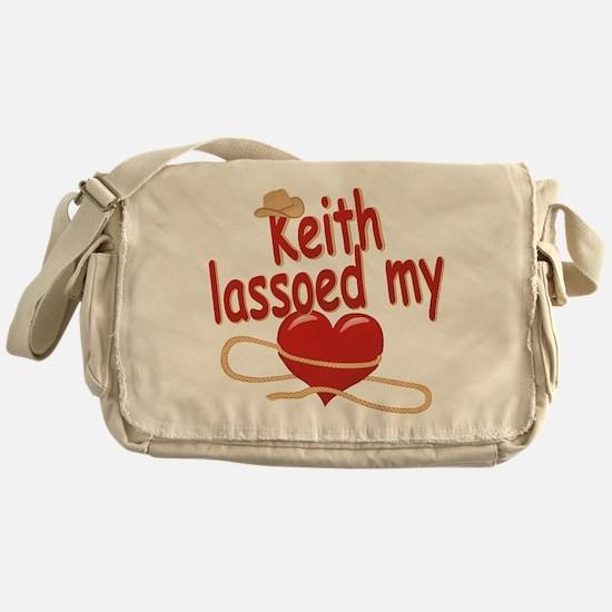 Keith Lassoed My Heart Messenger Bag