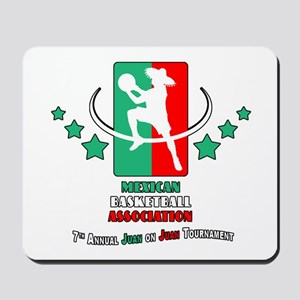 Mexican Basketball Associatio Mousepad