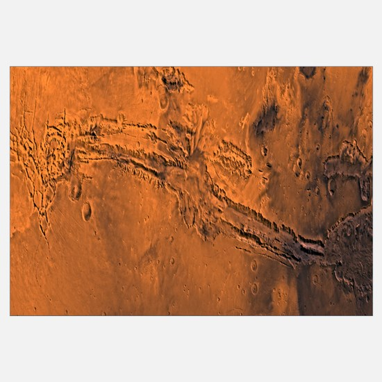 Valles Marineris the great canyon of Mars