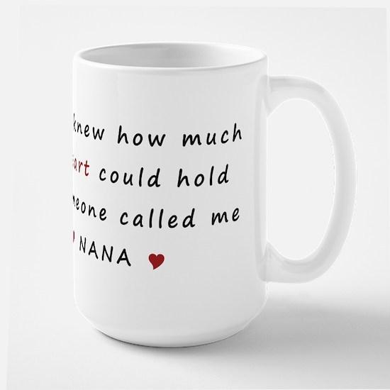 My heart holds Love Large Mug