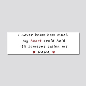 My heart holds Love Car Magnet 10 x 3