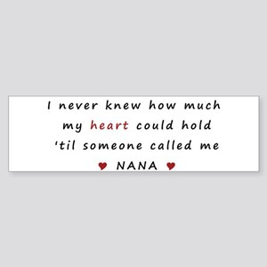 My heart holds Love Sticker (Bumper)