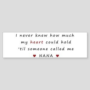 My heart holds Love Sticker (Bumper)