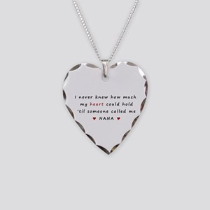 My heart holds Love Necklace Heart Charm