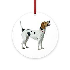 Foxhound Ornament (Round)