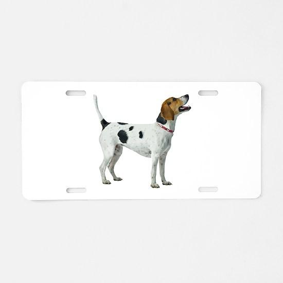 Foxhound Aluminum License Plate
