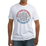 Right Wing Extremist Fitted T-Shirt