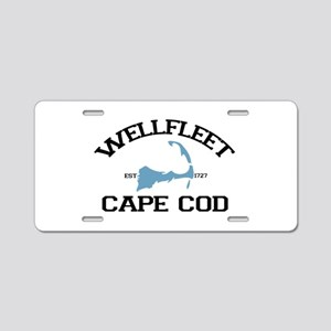 "Wellfleet MA ""Varsity"" Design. Aluminum License Pl"