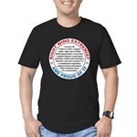 Right Wing Extremist Men's Fitted T-Shirt (dark)
