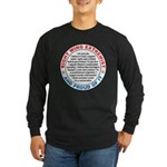 Right Wing Extremist Long Sleeve Dark T-Shirt