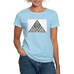 Celtic Pyramid Women's Pink T-Shirt