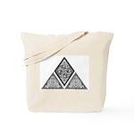 Celtic Pyramid Tote Bag