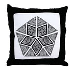 Celtic Pyramid Throw Pillow