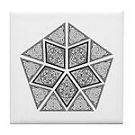 Celtic Pyramid Tile Coaster