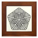 Celtic Pyramid Framed Tile