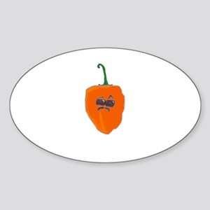 Spicy Intentions Sticker (Oval)