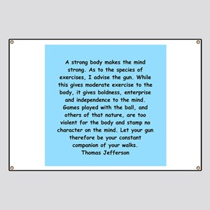 thomas jefferson Banner