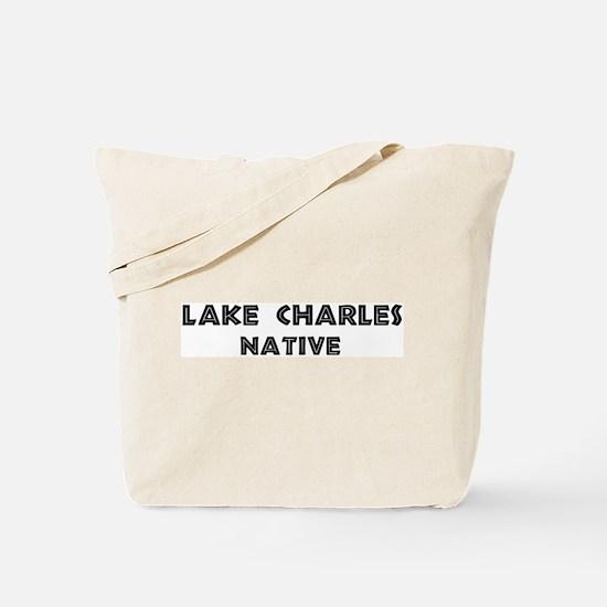 Lake Charles Native Tote Bag