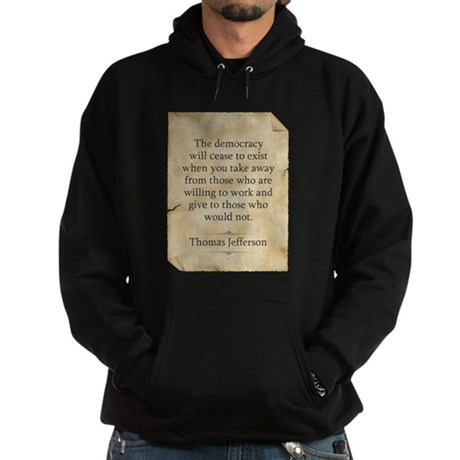 Thomas Jefferson Hoodie (dark)