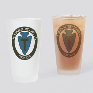 36th Infantry Texas ANG Drinking Glass