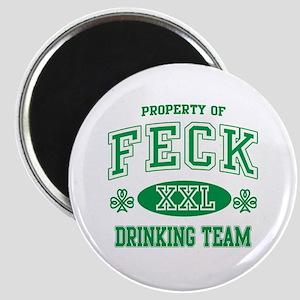 Feck Irish Drinking Team Magnet